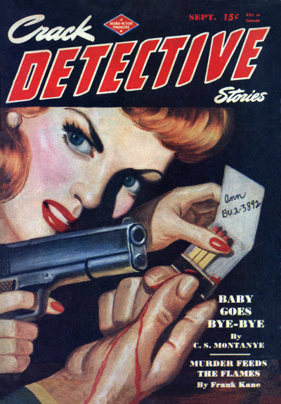 Crack Detective Stories, September 1946