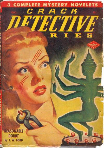 Crack Detective Stories, December 1947