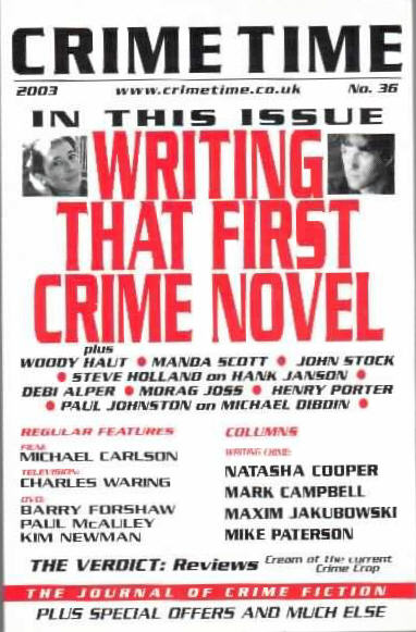 Tips for crime fiction writers