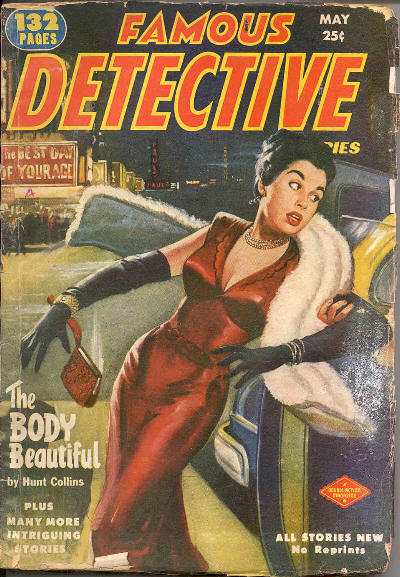 Famous Detective, May 1952