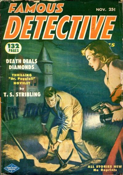 Famous Detective, November 1952