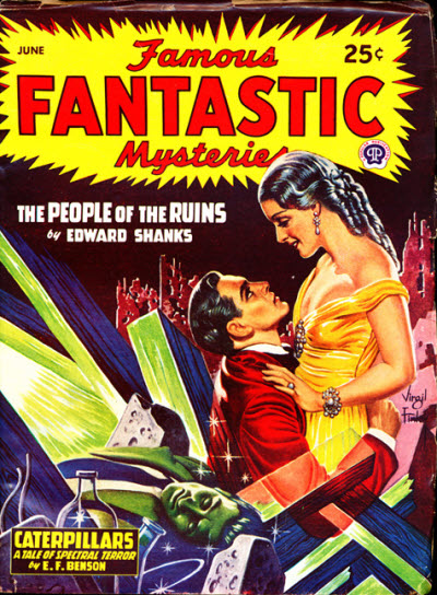 Famous Fantastic Mysteries, June 1947