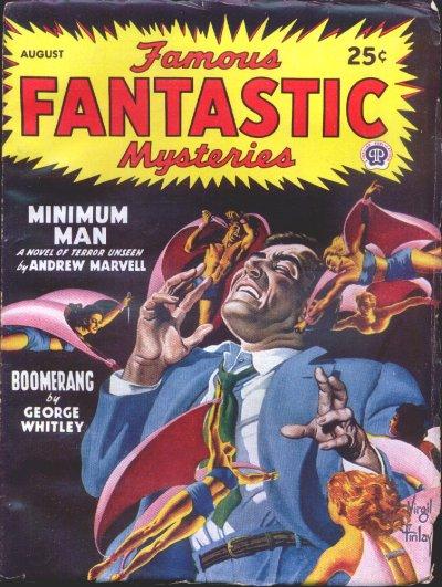 Famous Fantastic Mysteries, August 1947