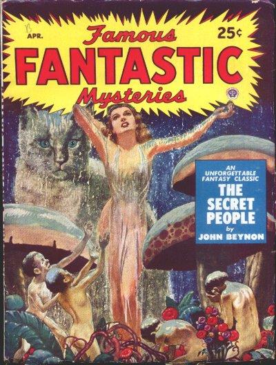 Famous Fantastic Mysteries, April 1950