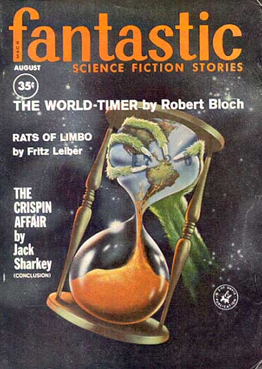 Fantastic Science Fiction Stories, Aug 1960