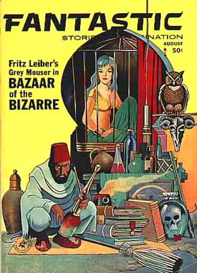 Fantastic Stories of Imagination, August 1963
