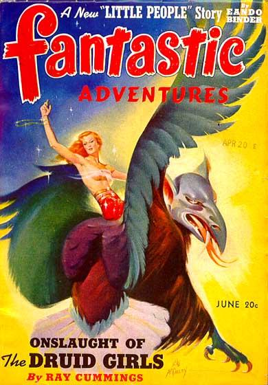 Fantastic Adventures, June 1941