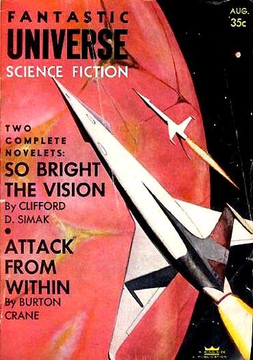 Fantastic Universe, August 1956