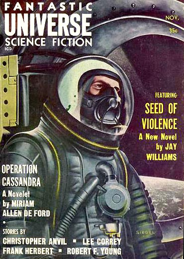 Fantastic Universe, November 1958