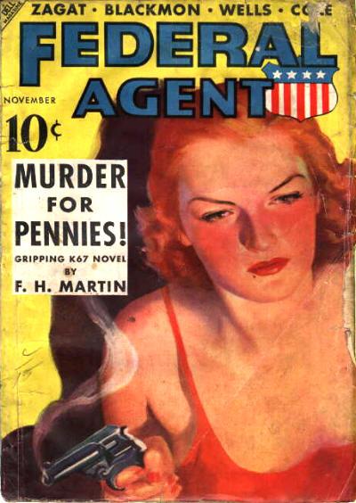 Federal Agent, November 1937