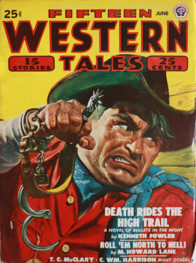... 108 · Death Rides the High Trail · Kenneth Fowler · na - fifteen_western_tales_194806