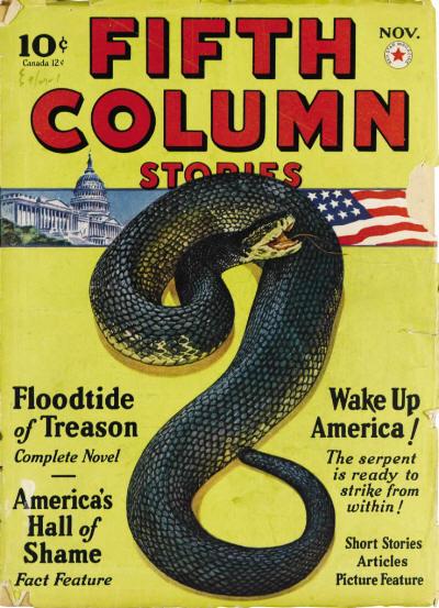 Fifth Column Stories, November 1940