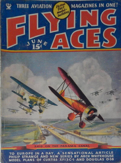 Flying Aces, June 1935