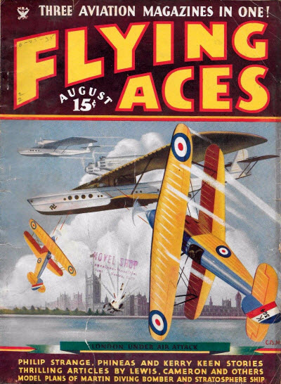 Flying Aces, August 1935