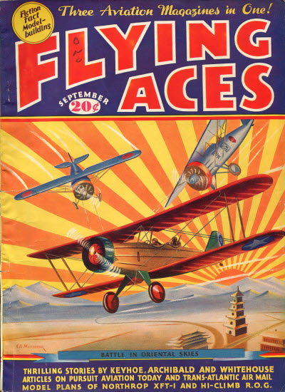 Flying Aces, September 1935
