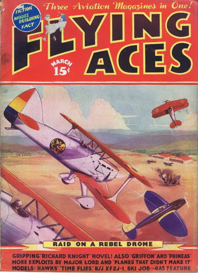 Flying Aces, March 1937