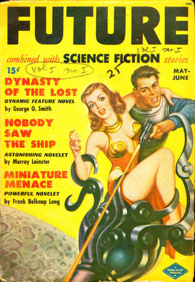 Future Combined with Science Fiction Stories, May/June 1950