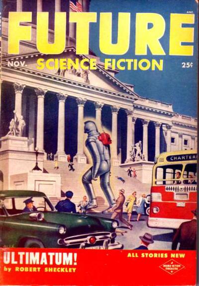 Future Science Fiction, November 1953