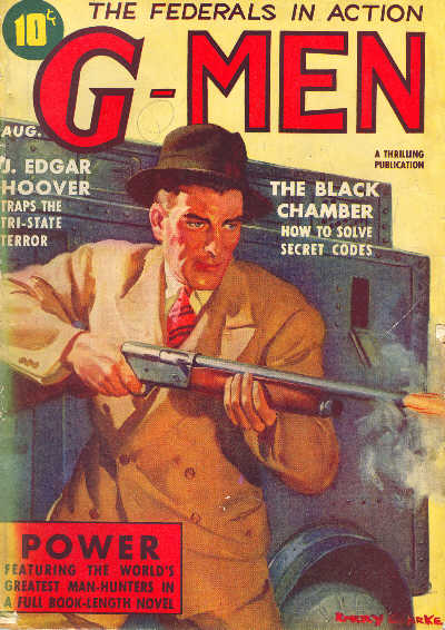 G-Men, August 1938