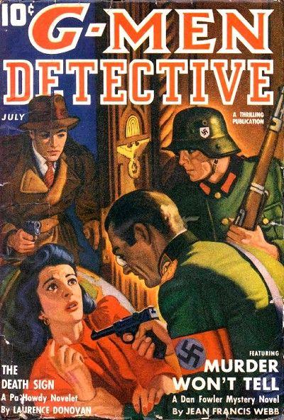 G-Men Detective, July 1942