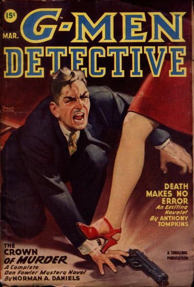 G-Men Detective, March 1947