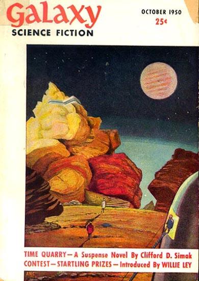 Galaxy Science Fiction, October 1950