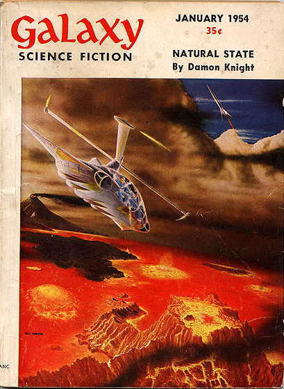 """Natural State"" was the cover story in the January 1954 issue of Galaxy"