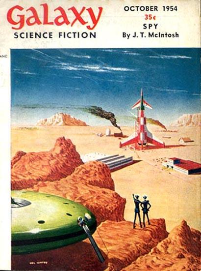 Galaxy Science Fiction, October 1954