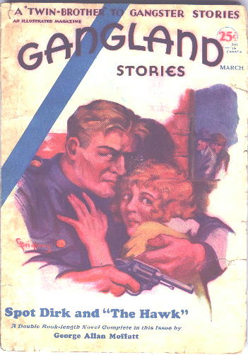 Gangland Stories, March 1931