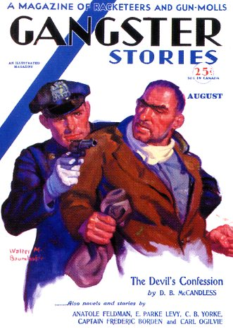 Gangster Stories, August 1930