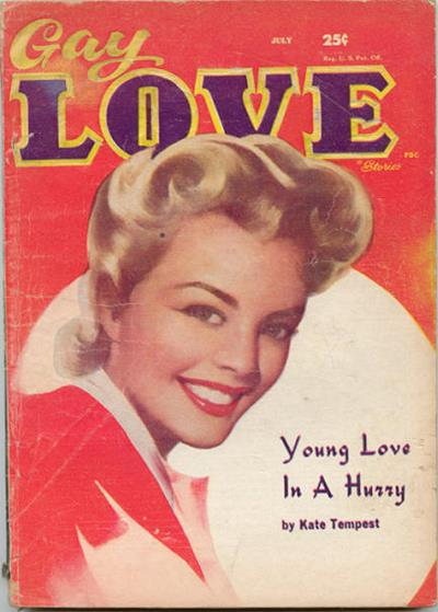 Gay Love Stories [v17 #1, July 1958] ed. Anon.