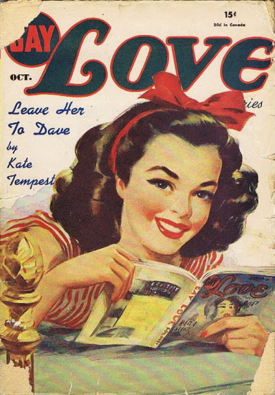 Gay Love Stories [v 4 #6, October 1946] ed. Marie Antoinette Park (Columbia ...