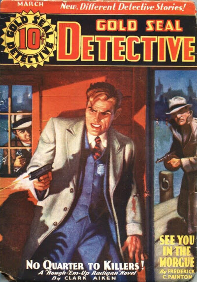 Gold Seal Detective, March 1936