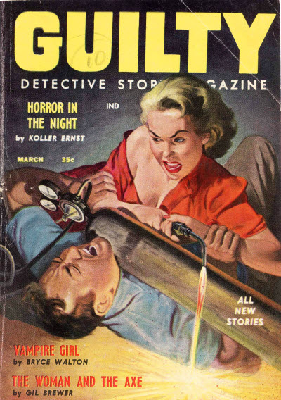 Guilty Detective Story Magazine, March 1958