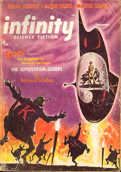 Infinity Science Fiction, December 1956