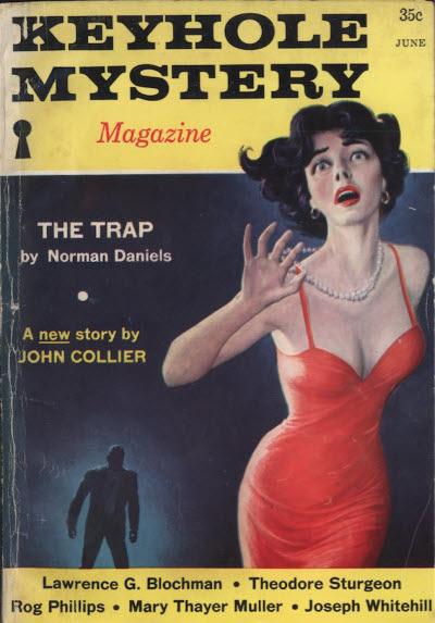 Keyhole Mystery Magazine, June 1960