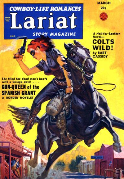 Lariat Story Magazine, March 1950
