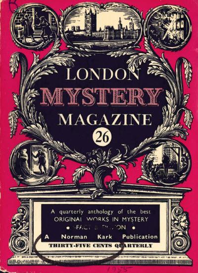 London Mystery Magazine #23, 1954