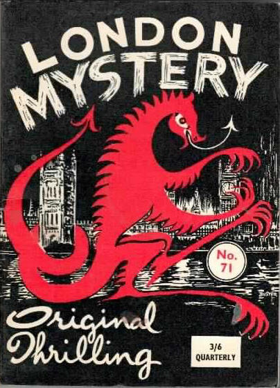 London Mystery Magazine #29, June, 1956