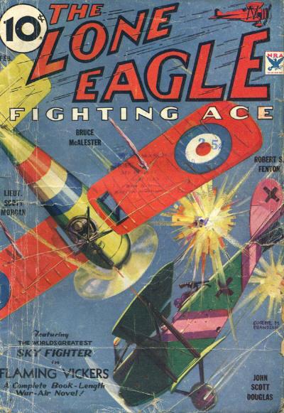 The Lone Eagle, February 1934