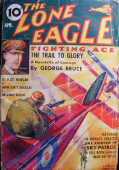 The Lone Eagle, April 1937