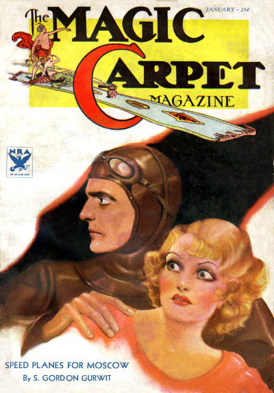 Magic Carpet Magazine, January 1934