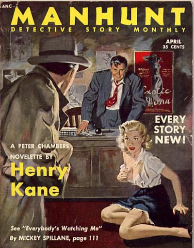 Manhunt, April 1953