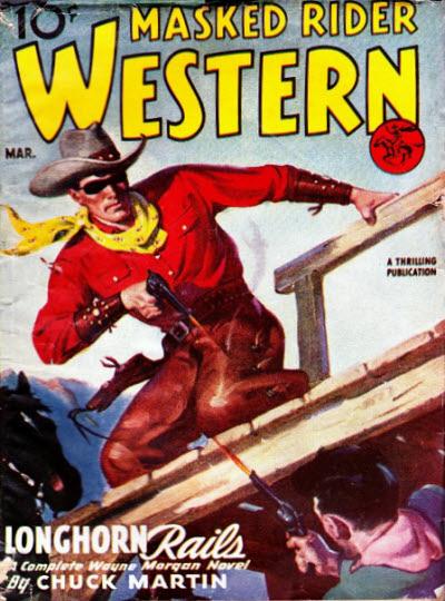 Masked Rider Western, March 1946