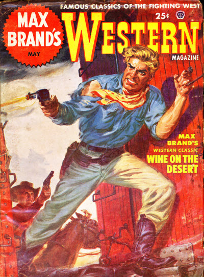wine on the desert max brand The short story wine on the desert by max brand is about a gunslinger bad guy out west near the border he rides up to a rancho and orders the mexican hired hand.