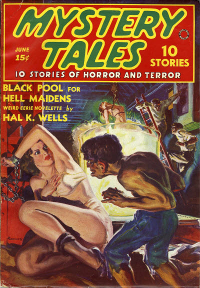Mystery Tales, June 1938