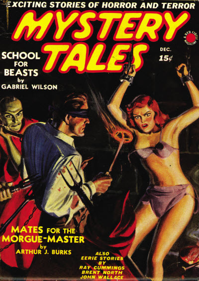 Mystery Tales, December 1939