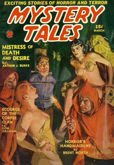 Mystery Tales, March 1940