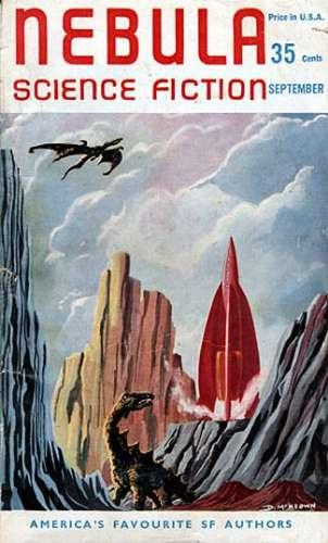 NEBULA SCIENCE FICTION MAGAZINE #34  RARE VINTAGE BRITISH PULP ERA SF DIGEST