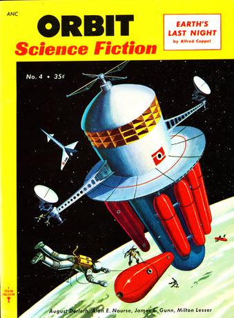 Orbit Science Fiction, September 1954